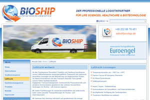 Bioship – Life Sciences Logistics